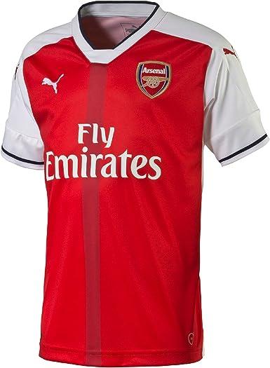 PUMA Camiseta réplica del Arsenal FC 16-17 para niño, Unisex-Kids ...