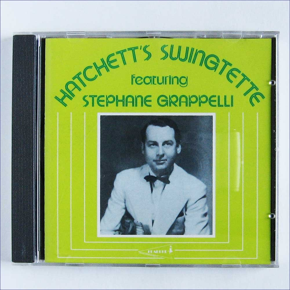 Hatchett's Swingette Featuring Stephane Genuine Manufacturer direct delivery Free Shipping Grappelli