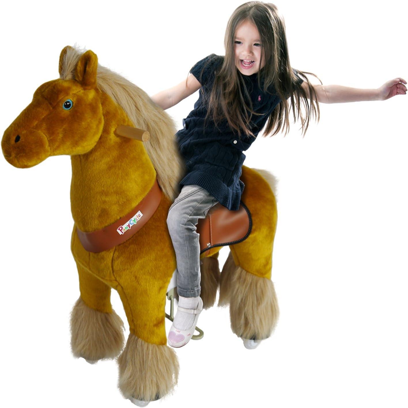 PonyCycle Original Caminar Montar el Pony Mecánico Oficial Caballo Pequeño Royal
