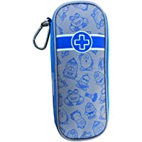 """EpiPen Carrying Case for Kids – """"Busy Boy Blue"""" Travel EpiPen Case & Emergency First Aid Pouch: Holds 2 Epipens, 2 AuviQ…"""