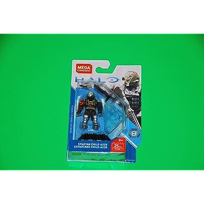 Mega Construx Halo Heroes Spartan Emile Building Set: Toys & Games