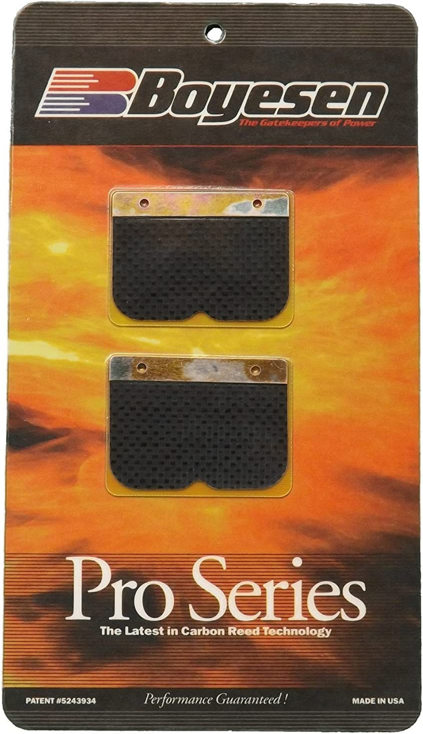 Boyesen Pro Series Reeds Suzuki RM250 1996-1997 Carbon Fiber//Composite PSR-89