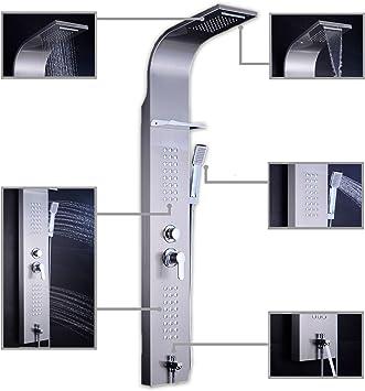 Columna de ducha hidromasaje AT-001A: Amazon.es: Bricolaje y ...