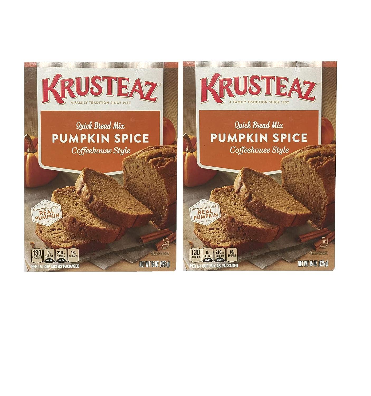 Krusteaz Mezcla rápida para pan de calabaza (dos ...