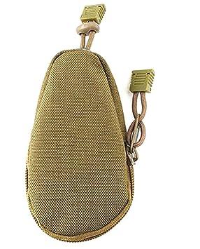 Hosaire 1X Carteras y Monederos Bolso táctico al aire libre Bolsa de nylon impermeable este bolso se puede cargar con tarjetas de crédito, efectivo, ...