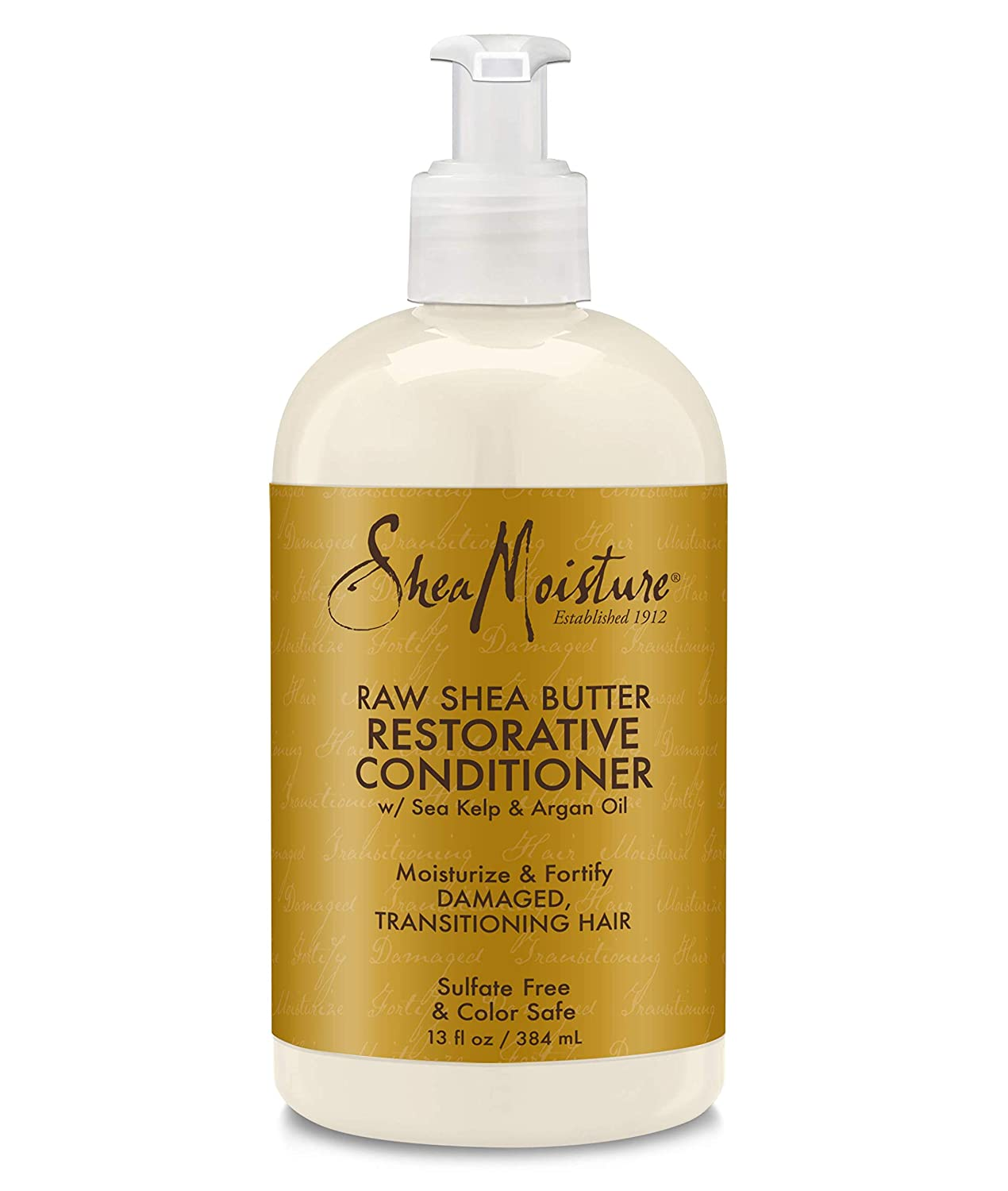 Shea Moisture Raw Shea Butter Restorative/Moisture Retention Conditioner, 13 Fl. Oz (Pack of 1) - Packaging May Vary