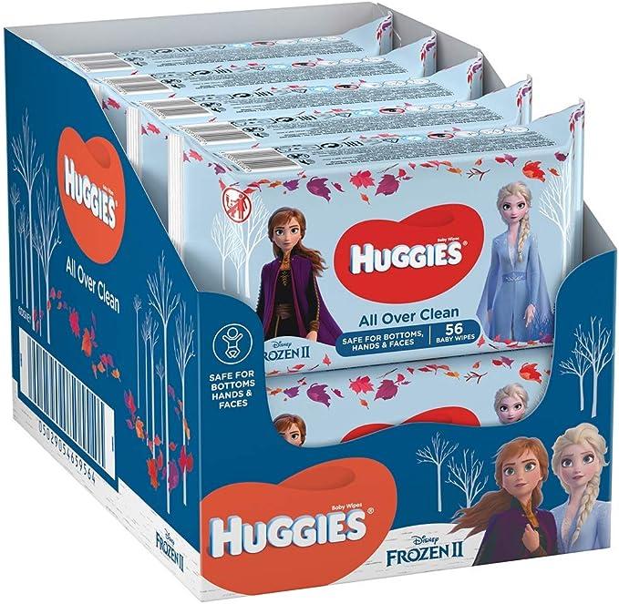 Huggies - Toallitas Húmedas Edición Especial Disney Dibjos Surtidos, 10 unidades x 56 toallitas, el empaque puede variar: Amazon.es: Alimentación y bebidas