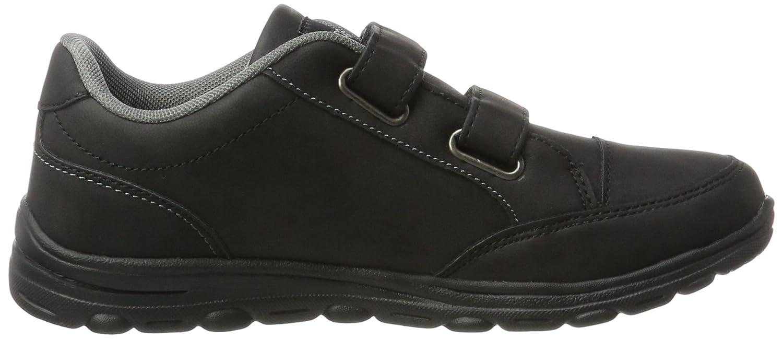 Kappa Comfit Velcro, Sneakers Basses Femme, Noir (Black 1111), 38 EU