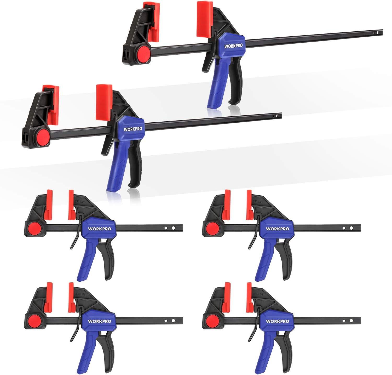 6 pulgadas 4 unidades IRWINQUICK-GRIP- Abrazadera de barra con una sola mano 1964758