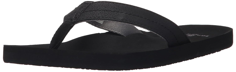 Sanuk de hombre Burm flip-flop 40 EU Negro Carbón