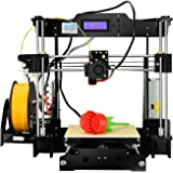 Versione aggiornata - Stampante desktop ALUNAR 3D Reprap Kit Prusa I3 con assemblaggio autonomo del filamento