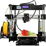 Aufgerüstete Version- ALUNAR 3D Desktop Drucker Self Assembly Reprap Prusa I3 Kit mit Filament