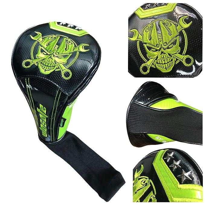Amazon.com : Sunbro Golf Shining Rivets Head Covers ...