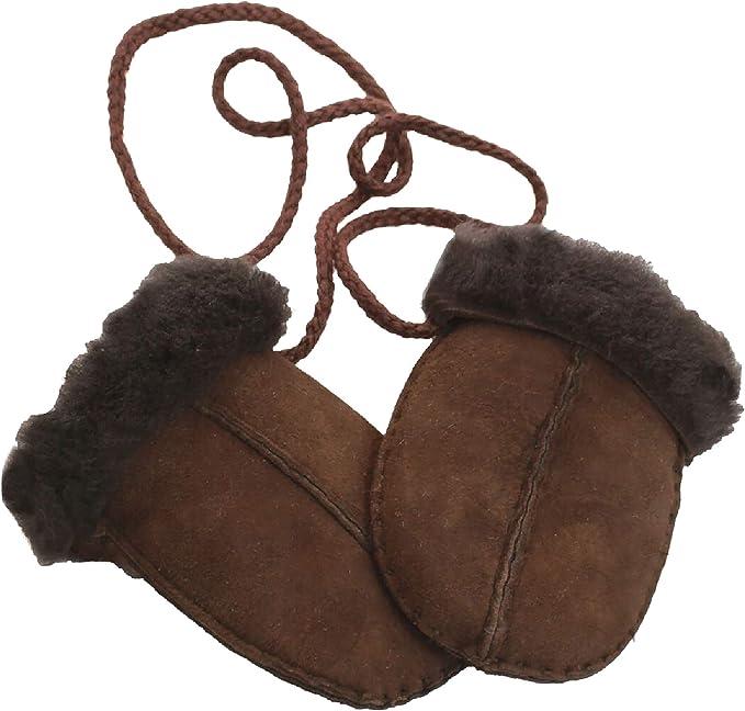 B/éb/é Moufles en peau de mouton Eastern Counties Leather