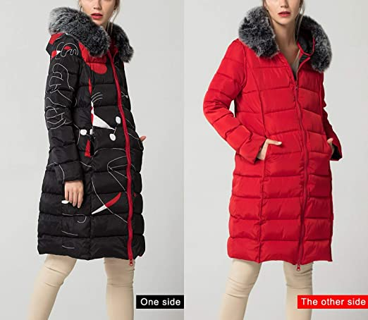 Amazon.com: Jifnhtrs with Fur Hooded Woman Winter Jacket Womens Coat 3XL Padded Long Parka Outwear for Women: Clothing