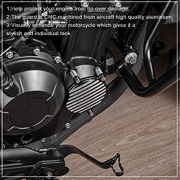 LoraBaber Motorrad Fallschutz Rahmen Slider f/ür H-o-n-d-a Rebel CMX 500 2017 2018 2019 2020 Anti Crash Motorschutz Crash Pad Cover Rot