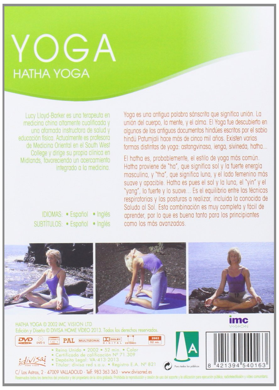 Hatha yoga [DVD]: Amazon.es: Cine y Series TV