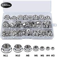 Loscrew 150 piezas M3 M4 M5 M6 M8