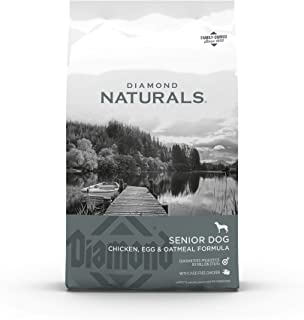 product image for Diamond Naturals Dry Senior Dog Food Formula Made with Chicken, Egg and Oatmeal with Protein, Probiotics, Superfoods, Antioxidants to Support Overall Health and Wellness in Older Dogs