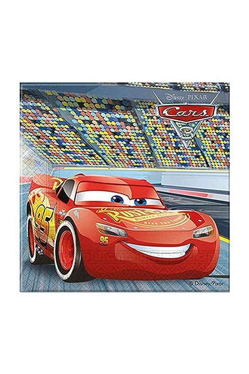 Colorbaby 49979 - Servilletas de Papel Disney Cars para Fiestas, pack de 20: Amazon.es: Juguetes y juegos