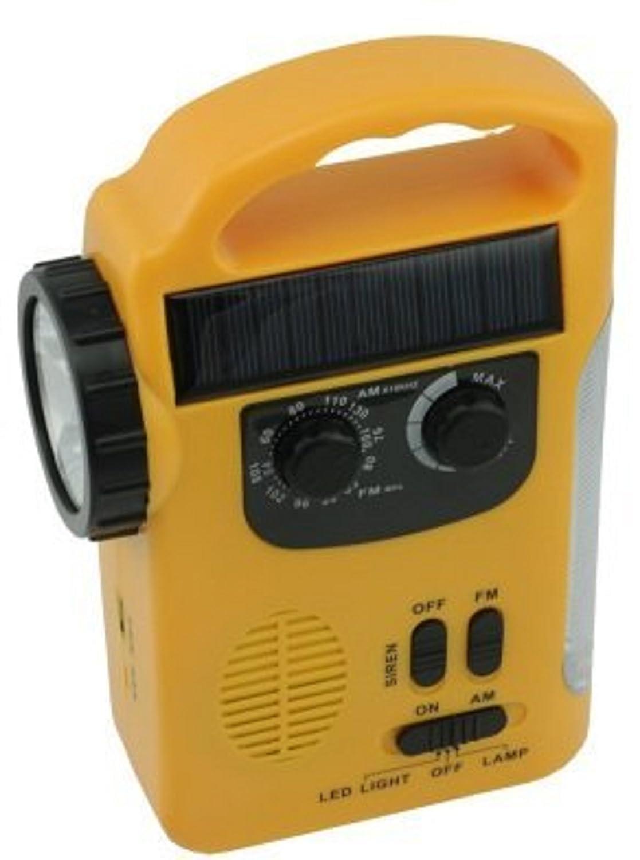 [La recuperacin de desastres] luz de radio de luz de emergencia recargable Manual de usuario [carga mvil] (japn importacin)