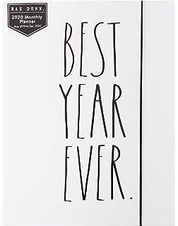 Rae Dunn BEST YEAR EVER Monthly Planner Calendar 2020 12 Months Softbound