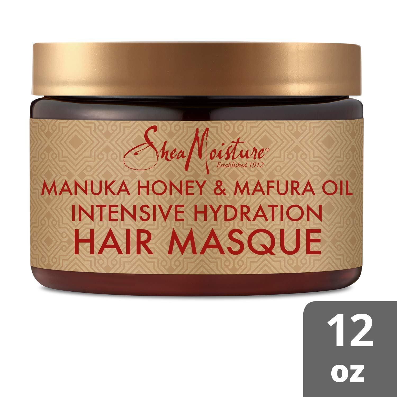 SheaMoisture Manuka Honey & Marfura Oil Hydration Intensive Masque Hair Treatment, 12 Fl Oz