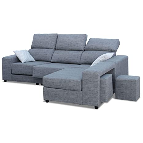 Mueble Sofa Chaiselongue, Subida Domicilio, 3 Plazas, Color ...