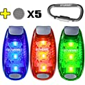 3 x Sturme LED Safety Strobe Lights with 3 Settings