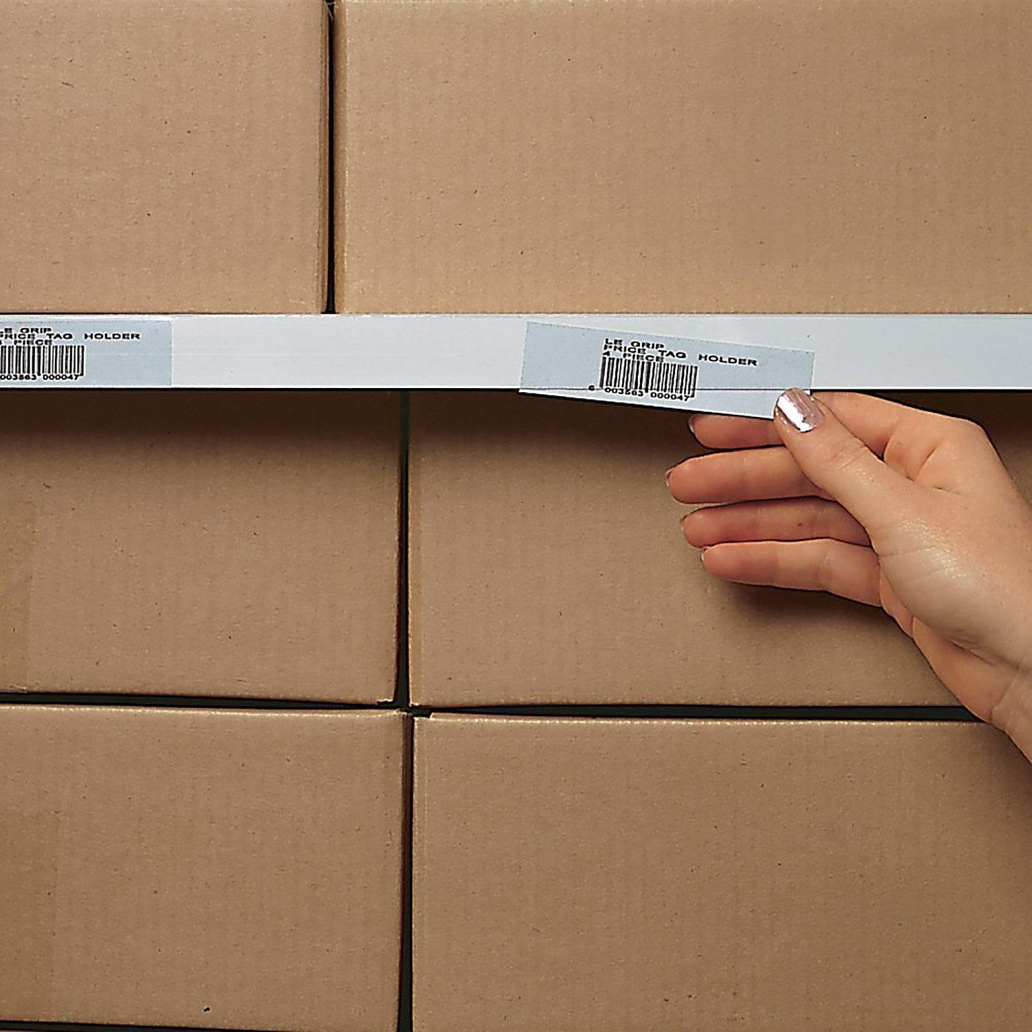 1'' x 36'' Label Holder, Clear Strip, 6/Pk, Lot of 1
