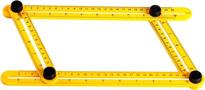 Multi-Angle Ruler Template Measures All... Aboat Angle-izer Template Tool