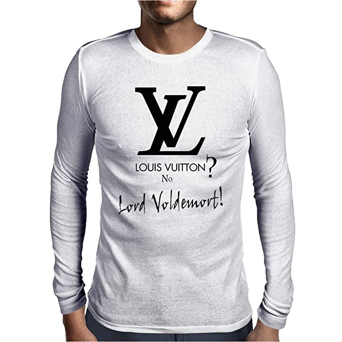 61d9a810ea822 Louis Vuitton Mens Long Sleeve T-Shirt White/XX-Large: Amazon.ca ...