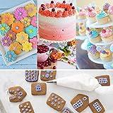 Kootek 177 Pcs Cake Decorating Kits Supplies