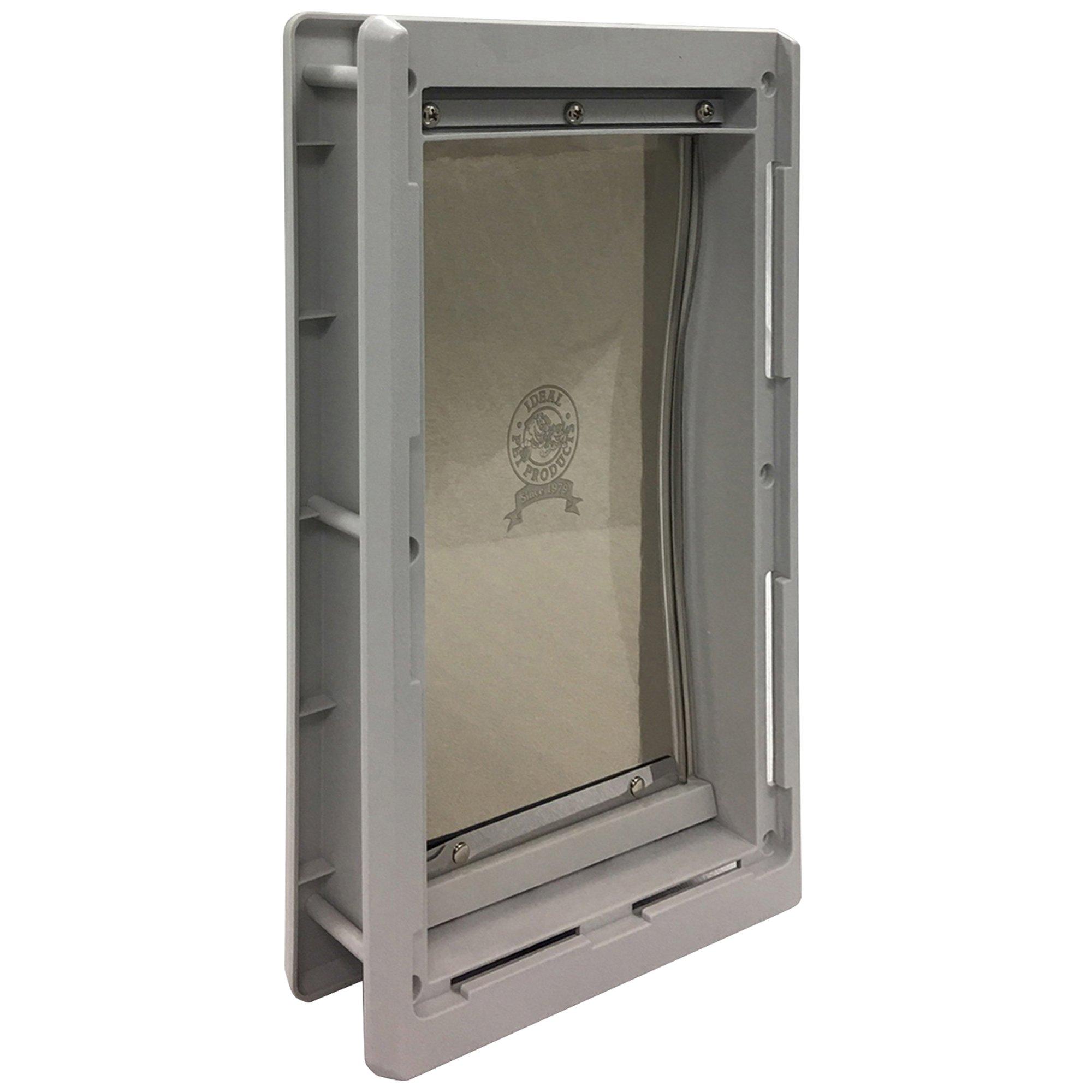 Ideal Pet Products Designer Series Plastic Pet Door with Telescoping Frame, Medium, 7'' x 11.25'' Flap Size