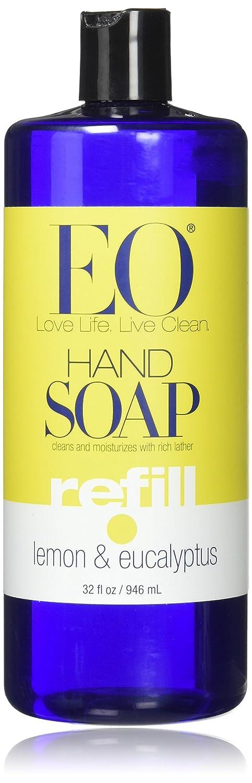EO Botanical Liquid Hand Soap Refill, French Lavender, 128 Fluid Ounce (1 Gallon) 342832