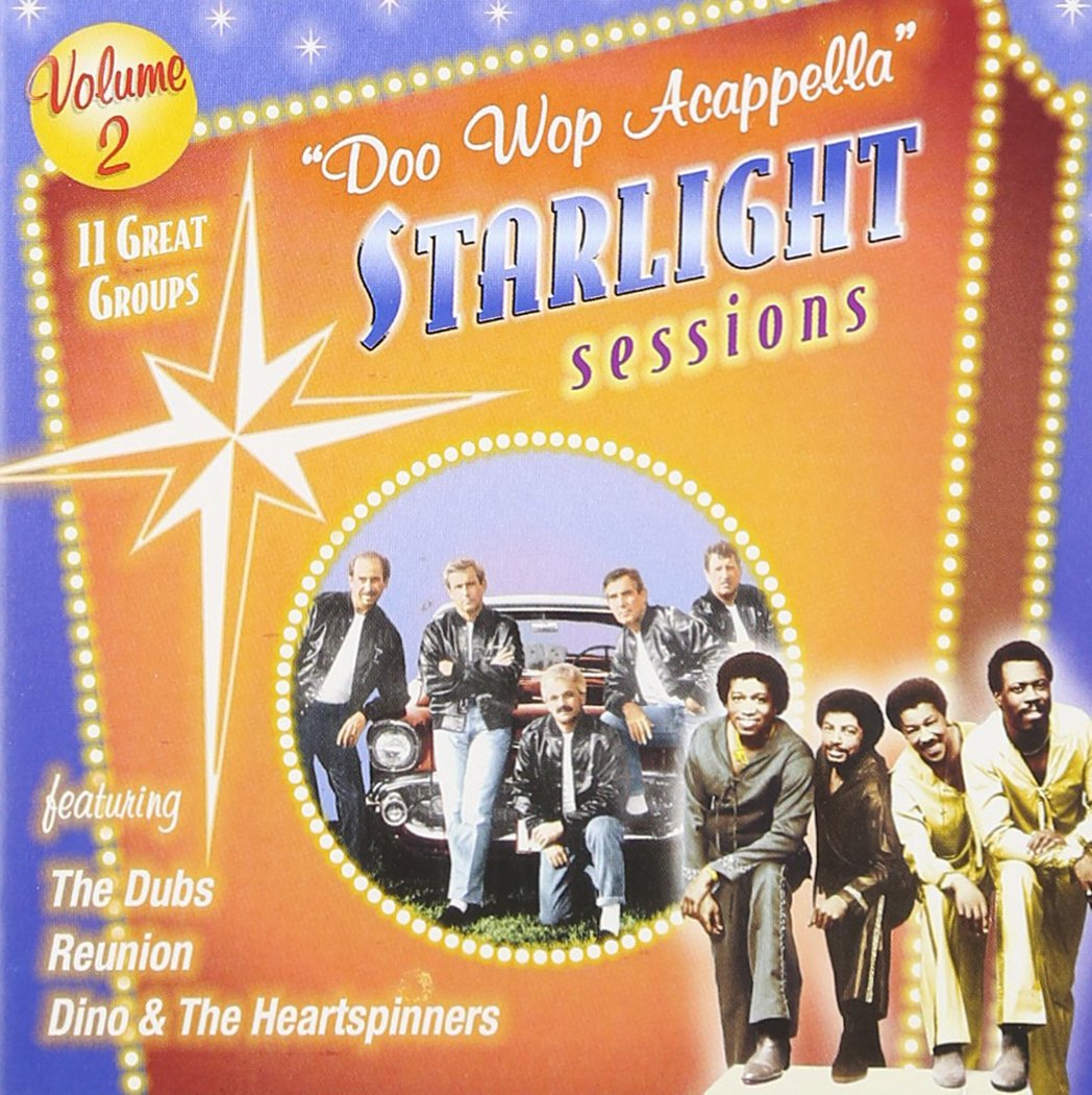 Doo Wop At unisex the price Acappella Starlight Sessions 2 Vol.