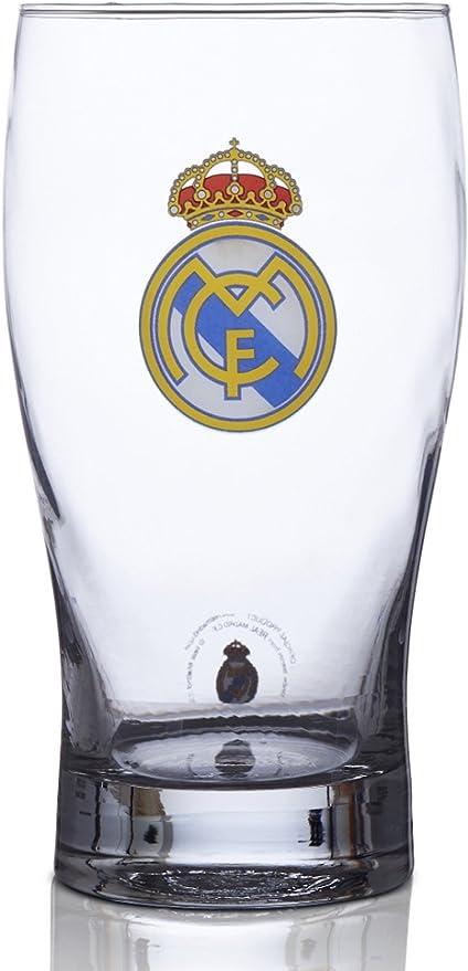 Amazon.com: Real Madrid FC Vaso de cerveza – Ideal para ...