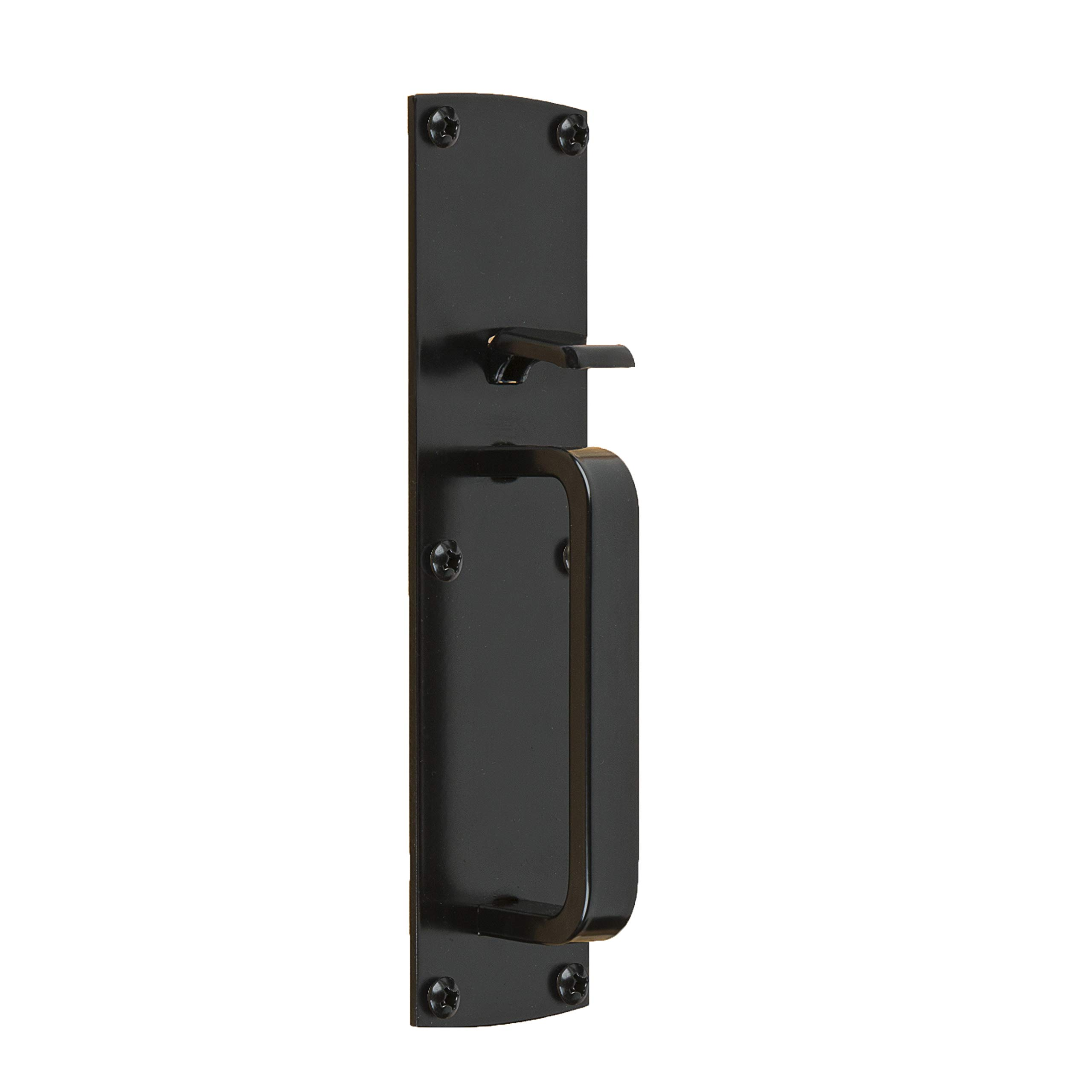 Gate Thumb Latch N109-050 by National Hardware in Black by National Hardware (Image #1)