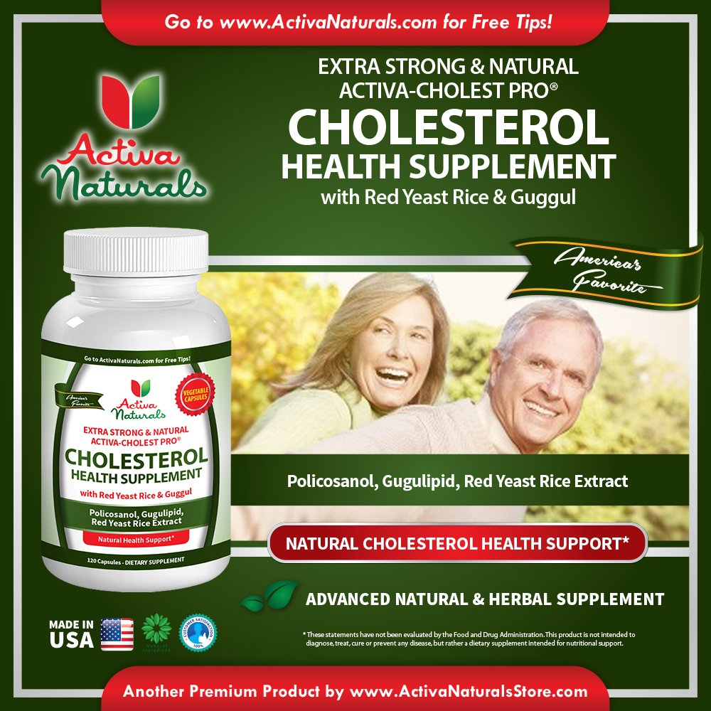 Cheap herbal supplement - Amazon Com Activa Naturals Cholesterol Supplement With Plant Sterols Red Yeast Rice Policosanol Guggul Herbs As Advanced Herbal Natural Supplements To