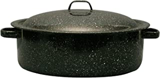 product image for Granite Ware Covered Casserole, 5-Quart, Black