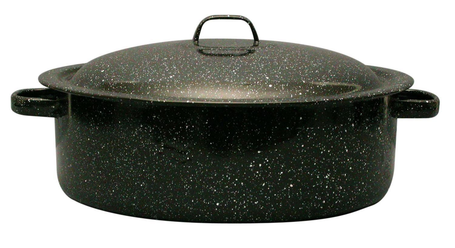Granite Ware 0613-4 3-Quart Covered Casserole