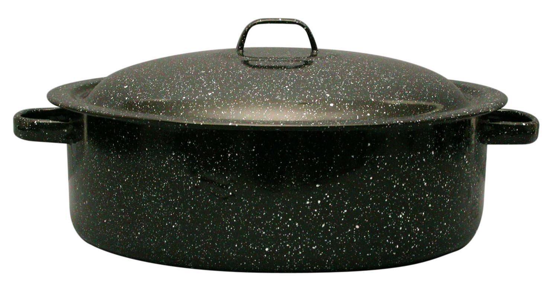 Granite Ware Covered Casserole, 5-Quart