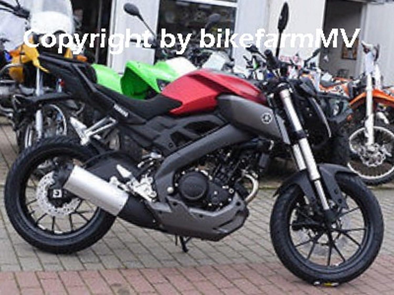 HHL Yamaha MT 125 2014- 25mm Heckh/öherlegung bikefarmMV High Up Kit Jack Up Kit Tail Riser