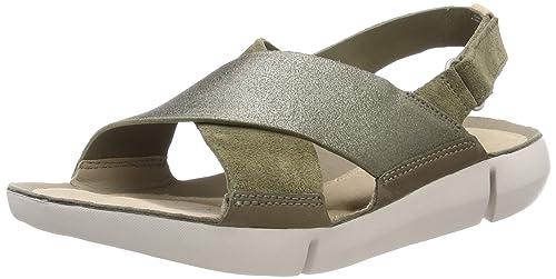 620459991794d Clarks Women s Tri Chloe Olive Fashion Sandals-5.5 UK India (39 EU ...