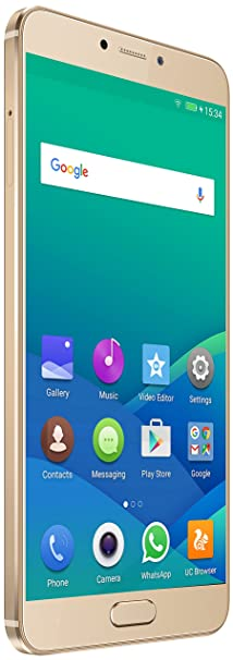 Gionee S6 Pro (Gold) Smartphones at amazon