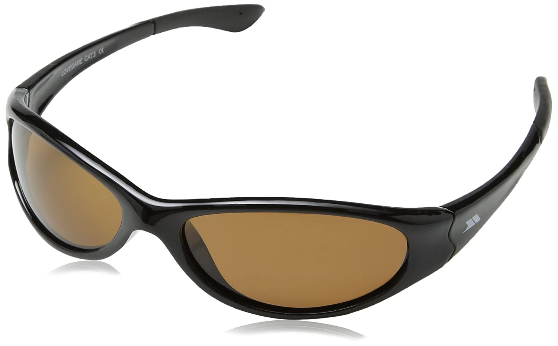 Trespass Lovegame, Black, Sunglasses Polarised Lenses with UV Protection, Black UUACEYG10003_BLKEACH