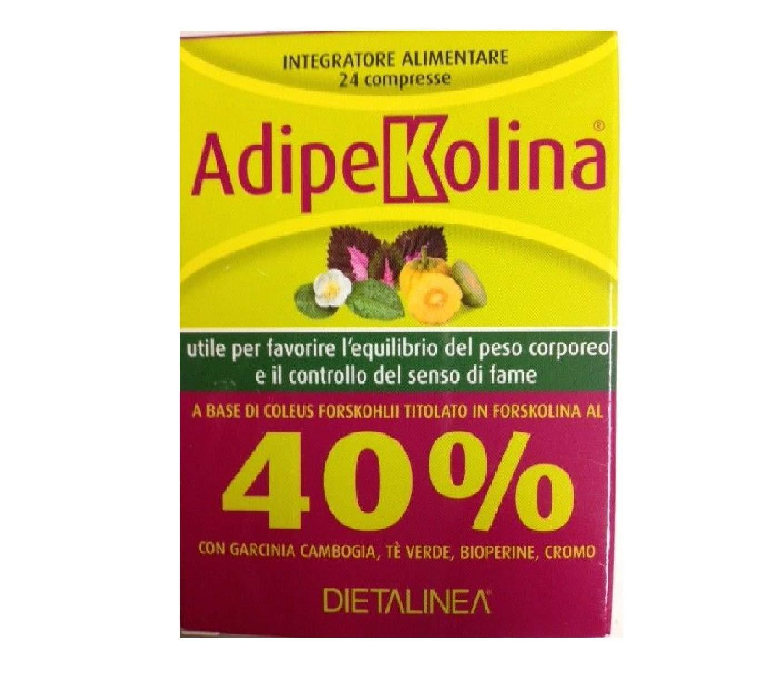 Amazon.com: Adipekolina Integratore Alimentare 24 Compresse ...