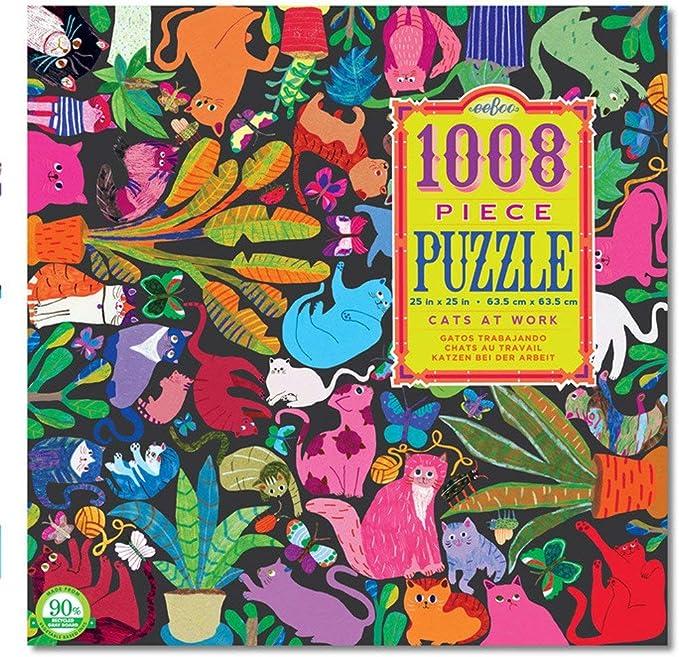 eeBoo- Puzzle Gatos (PZTCAW): Amazon.es: Juguetes y juegos