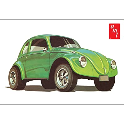 AMT 1044 1/25 Volkswagen Beetle Superbug Gasser: Toys & Games