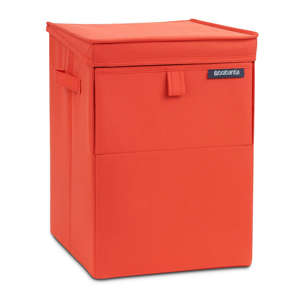 Brabantia Stackable Laundry Basket 35 L Warm Red New Ebay